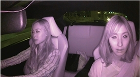 車内カメラ映像_夜