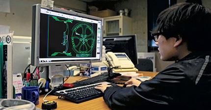 WORKホイールのテクノロジー