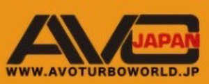 AVO TURBOWORLD JAPANロゴ